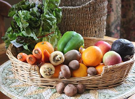 Retour des fruits et légumes